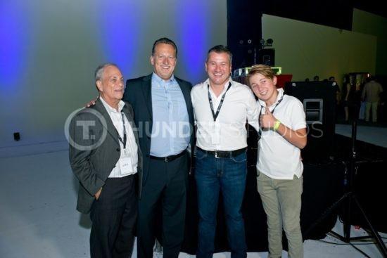 Rodric David with friends Thunder Studios
