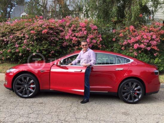 Rodric David Tesla P90D with ludicrous mode