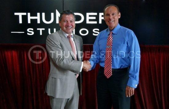Rodric David and Carson City Mayor Jim Dear
