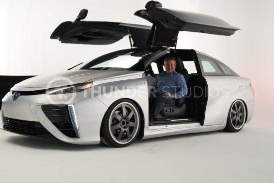 Rodric David hydro powered car by Toyota
