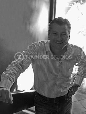 Rodric David is the Chairman and CEO of Thunder Studios.