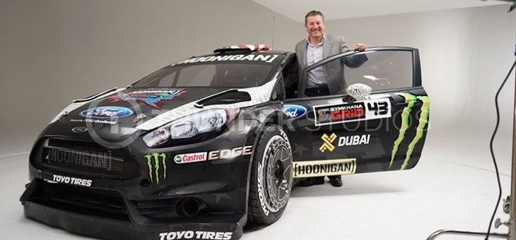 The Backlot: Ken Block's Gymkhana Eight Livery