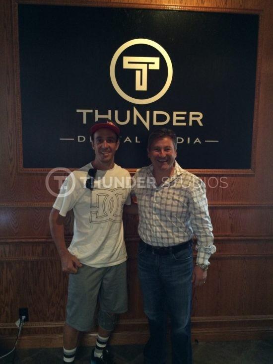 rodric david and robbie maddison thunder studios