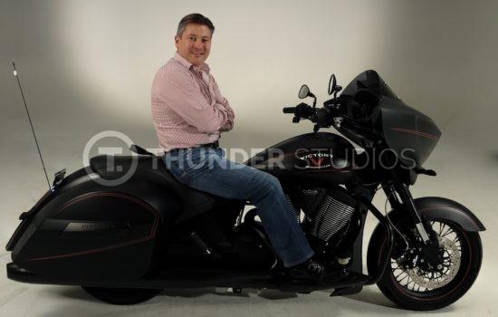 Rodric David Victory Magnum X-1 motorcycle