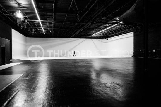 rodric david standing on stage 3 Thunder Studios